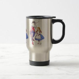 Alice in Wonderland & Unicorn Travel Mug