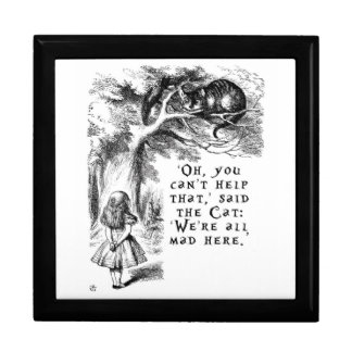 Alice in Wonderland - We're all mad here Gift Box