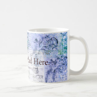 Alice in Wonderland  We're all mad here quote Basic White Mug
