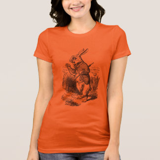 Alice in Wonderland White Rabbit T-Shirt