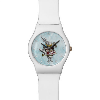 Alice in Wonderland White Rabbit Watches