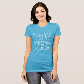 Alice in Wonderland Womens T-Shirt Nonsense