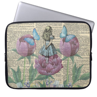 Alice In Wonderland - Wonderland Garden Laptop Sleeve