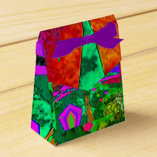 """""""Alice in Wonderland's Forest"""" Tent Favor Box Party Favour Boxes"""