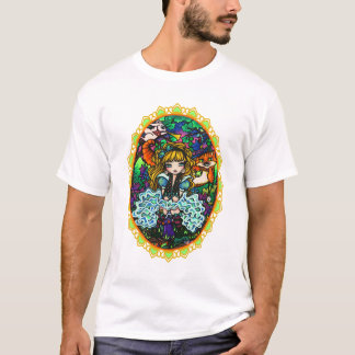 """Alice Lost"" Alice in Wonderland Cheshire Cat T-Shirt"