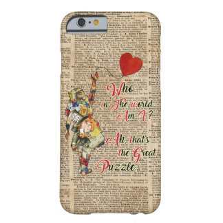 Alice,Mad Hatter & Rabbit Vintage Art Phone Case