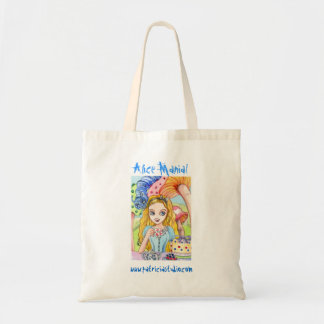 Alice Mania - light color version Budget Tote Bag