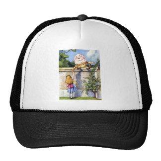 ALICE MEETS HUMPTY DUMPTY CAP