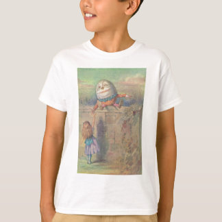 Alice meets Humpty Dumpty T-Shirt