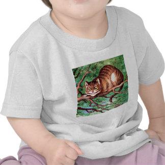 Alice Meets The Cheshire Cat in Wonderland Shirt