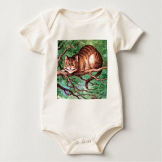Alice Meets The Cheshire Cat in Wonderland Bodysuits