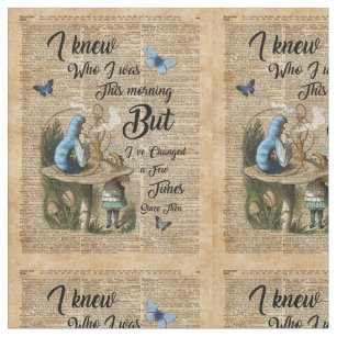 Alice Wonderland Quote Craft Supplies Zazzlecomau