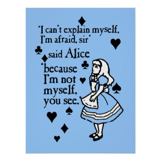 Alice Not Myself Poster