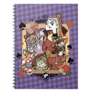 Alice - Notebook with spiral