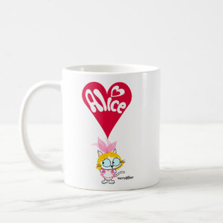 Alice of cat of wonderland coffee mug