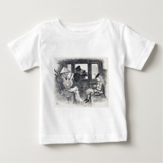 Alice on the Train Baby T-Shirt