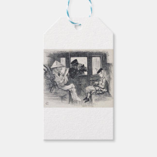 Alice on the Train Gift Tags