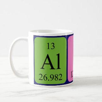 Alice periodic table name mug