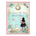 Alice & Pink Flamingo Bridal Shower Tea Party
