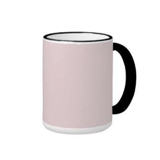 Alice Pink in an English Country Garden Ringer Mug