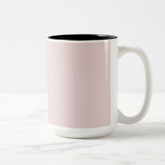Alice Pink in an English Country Garden Two-Tone Mug