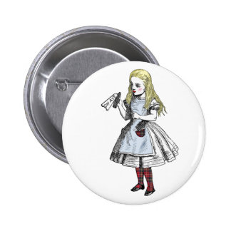 Alice Says Yes Scottish Independence Button Badge