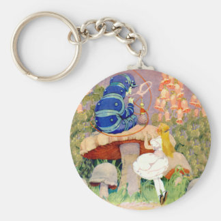 Alice Seeks Advice From the Caterpillar Key Ring