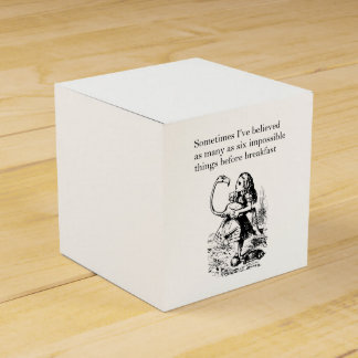 Alice, Six Impossible Things Favour Box