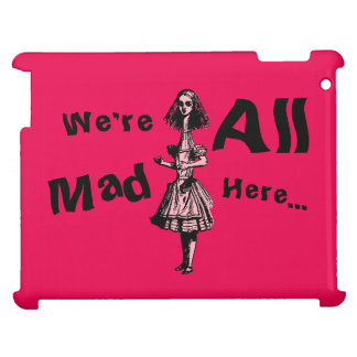 Alice Stretched in Wonderland iPad Cover