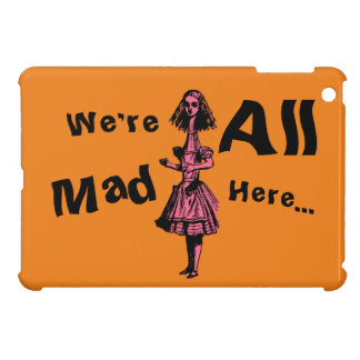 Alice Stretched in Wonderland iPad Mini Cases