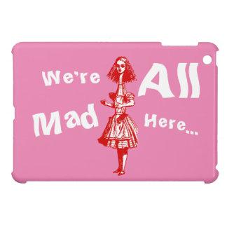 Alice Stretched in Wonderland iPad Mini Cover