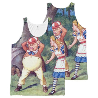 Alice & the Angry Tweedle All-Over Print Tank Top
