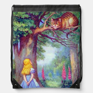 Alice & the Cheshire Cat Full Color Backpack