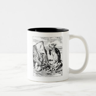 Alice, the Gryphon and the Mock Turtle Coffee Mugs