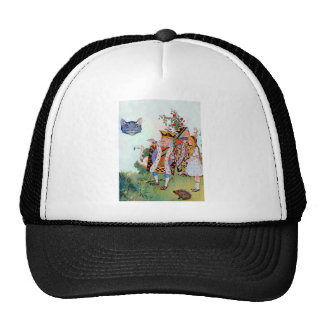 Alice The King of Hearts the Cheshire Cat Mesh Hat