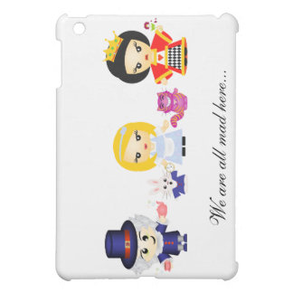 Alice, the Queen and the Madhatter iPad Mini Case