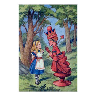 Alice & the Red Queen Poster