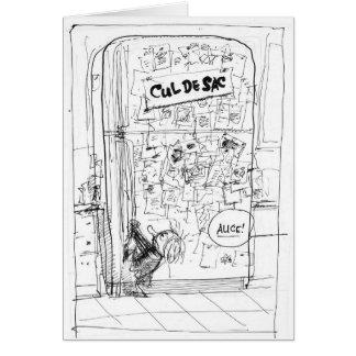 Alice & the Refrigerator  Card