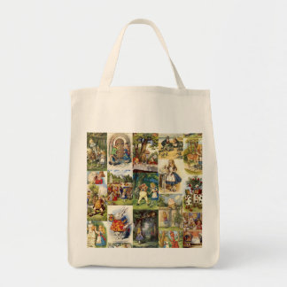 Alice Through the Looking Glass Grocery Tote