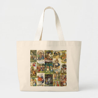 Alice Through the Looking Glass Jumbo Tote