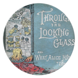 Alice Through The Looking Glass Plate