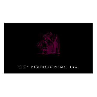 Alice Tiny Door Pack Of Standard Business Cards