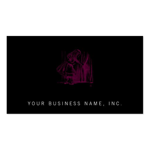 Alice Tiny Door Business Cards