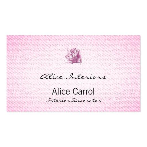 Alice Tiny Door Business Card Templates