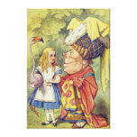 Alice with the Duchess Canvas Print