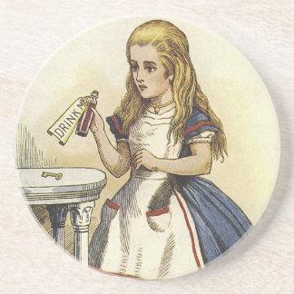 Alicein Wonderland Drink Me Coasters