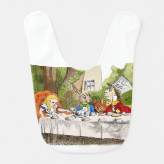 Alice's Adventures in Wonderland Bib
