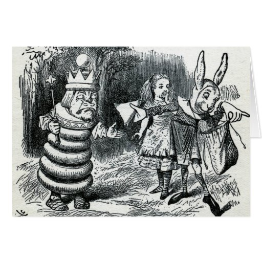 Alice's Adventures in Wonderland Card