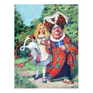 Alice's Adventures in Wonderland Post Card