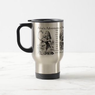 Alice's Adventures in Wonderland Travel Mug